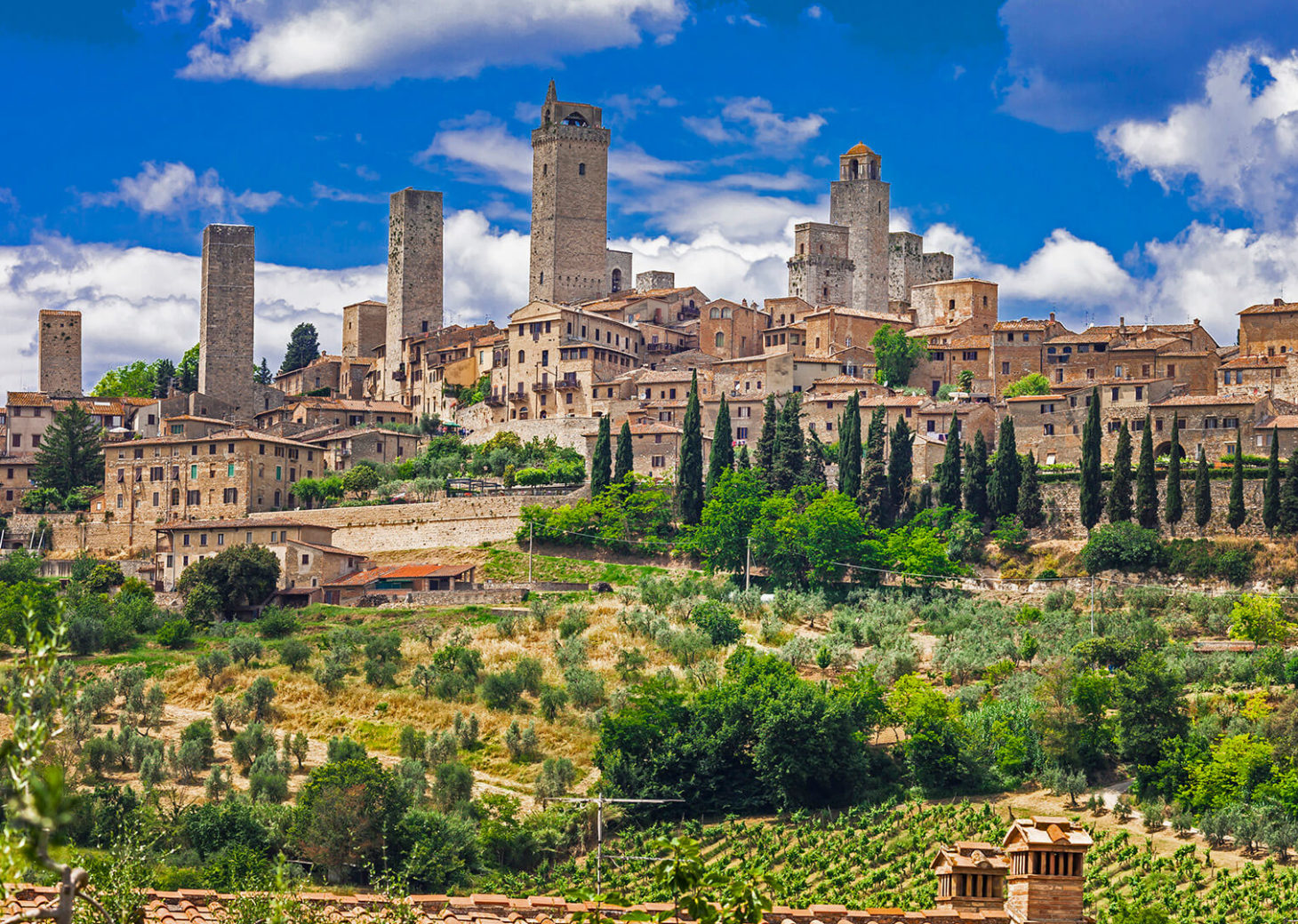 San Gimignano, the Manhattan of the Middle Age