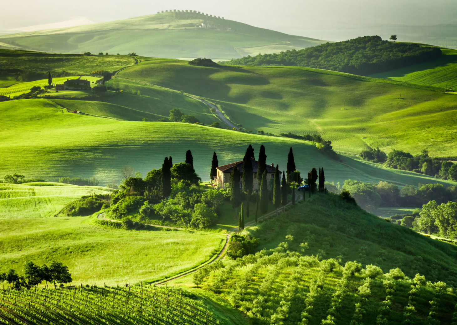 The beauty of the Tuscany inland